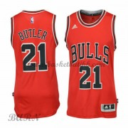 Chicago Bulls Barn 2015-16 Jimmy Butler 21# Road NBA Basketball Drakter..